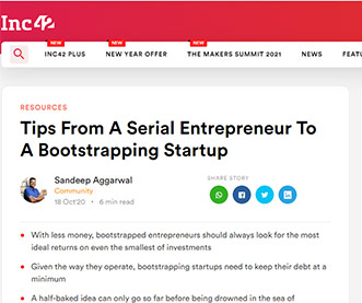 Tips From A Serial Entrepreneur To A Bootstrapping Startup